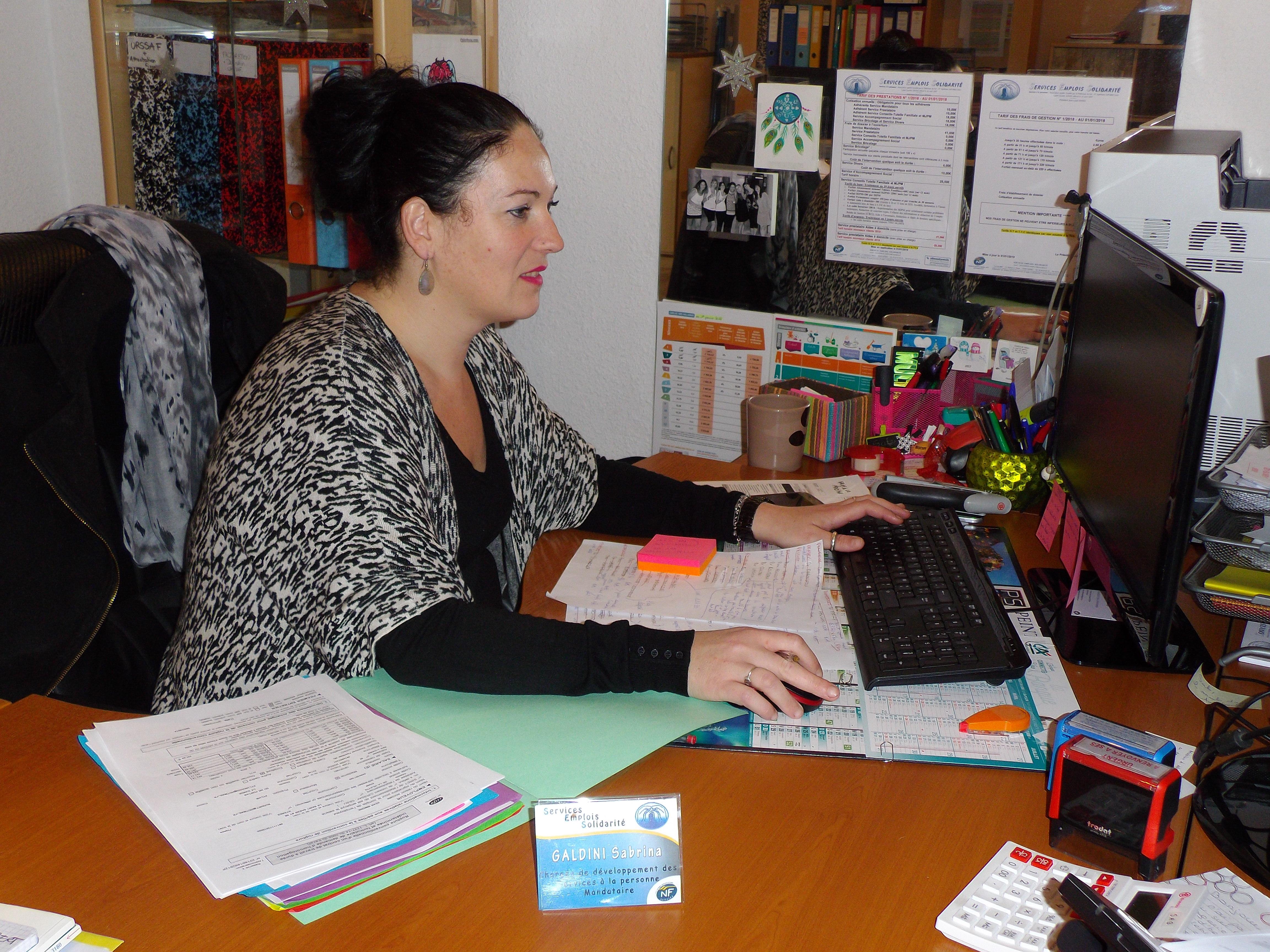 Sabrina GALDINI Responsable du service mandataire mandataire Mandataire IMGP2068